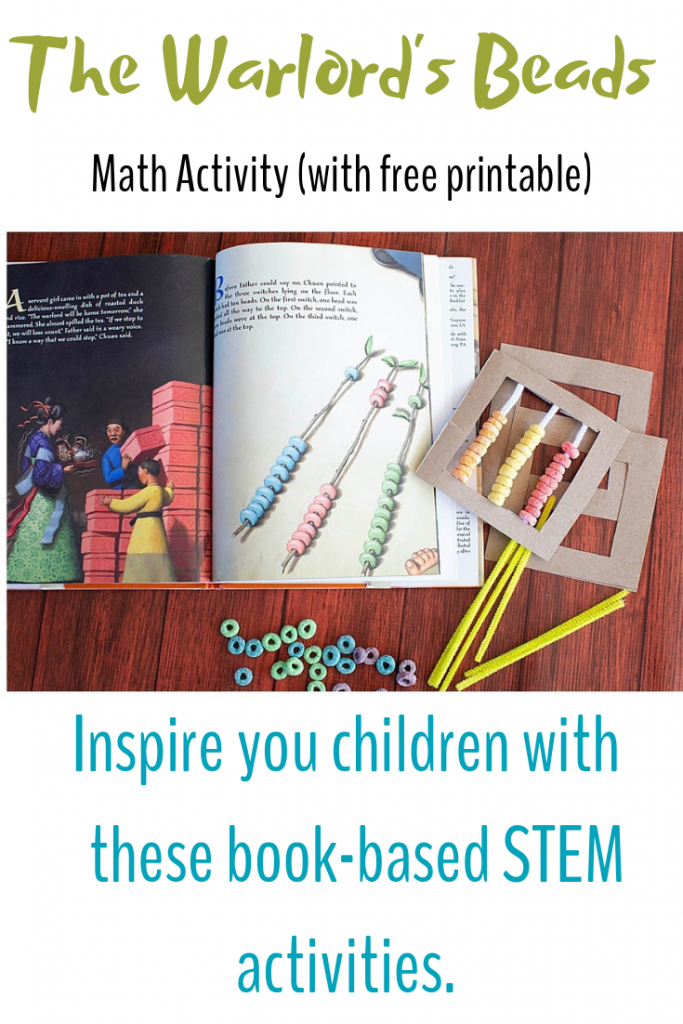Inspired your children with these book-based STEM activities!