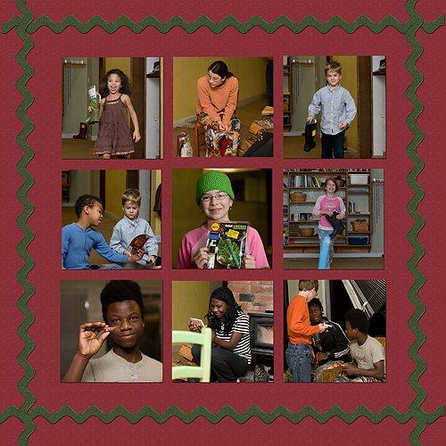 Christmas layout copy