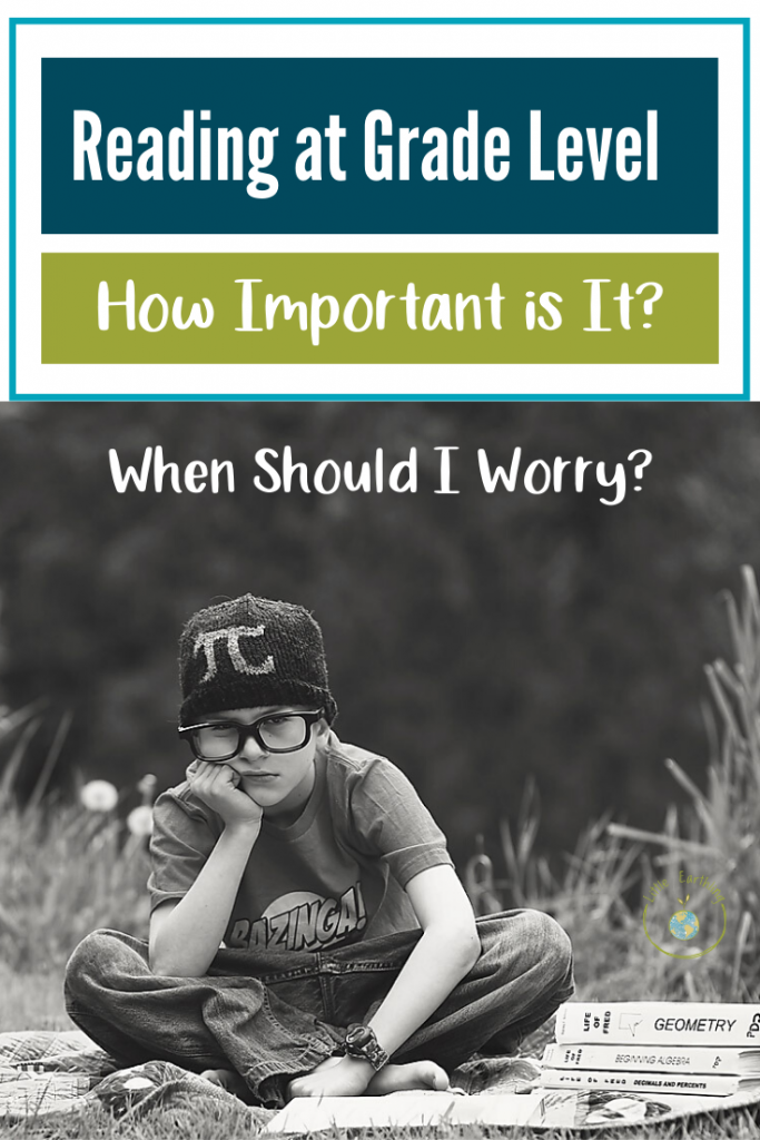 Reading at grade level. How important is it and when should I worry?
