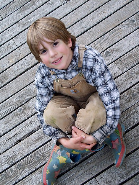 Enoch was a charming, adorable, wild, stubborn kid.