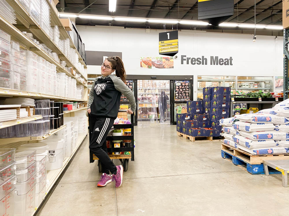 Grocery shopping is real life learning for our kids. Don't underestimate the value of these skills!