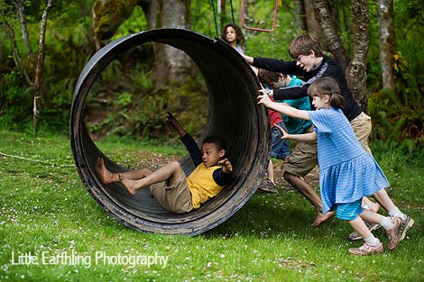 this tunnel has provided hours of fun for our kids. We call it homeschool PE