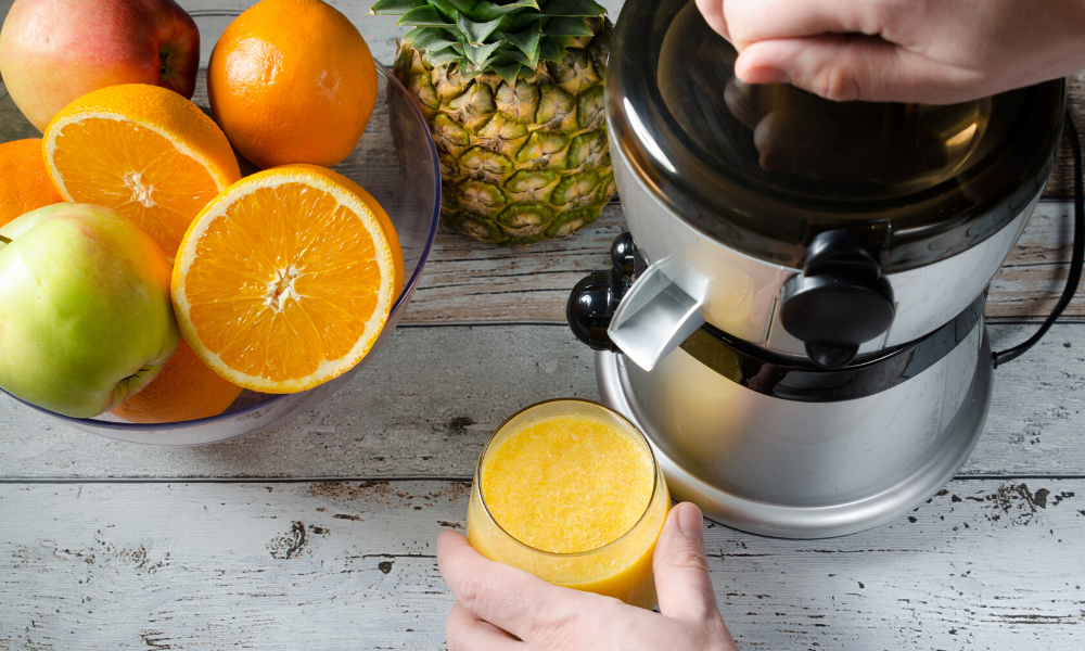 Equipment need for juicing