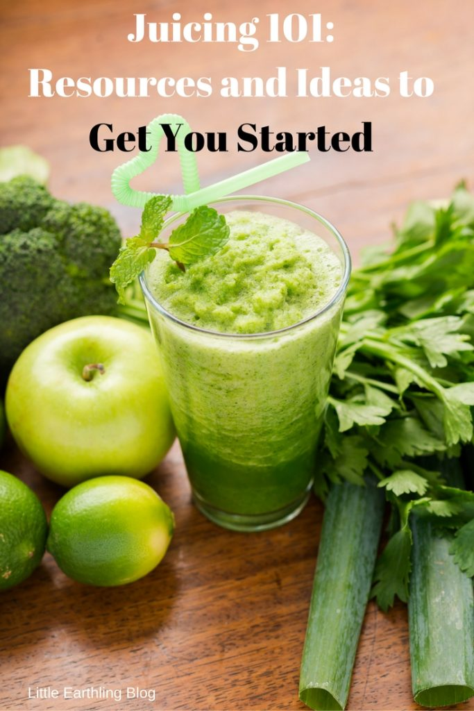 Juicing 101: Ideas and Resources to Get Started