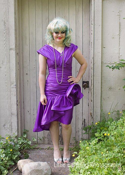 Hunger games costume: Capital Citizen.