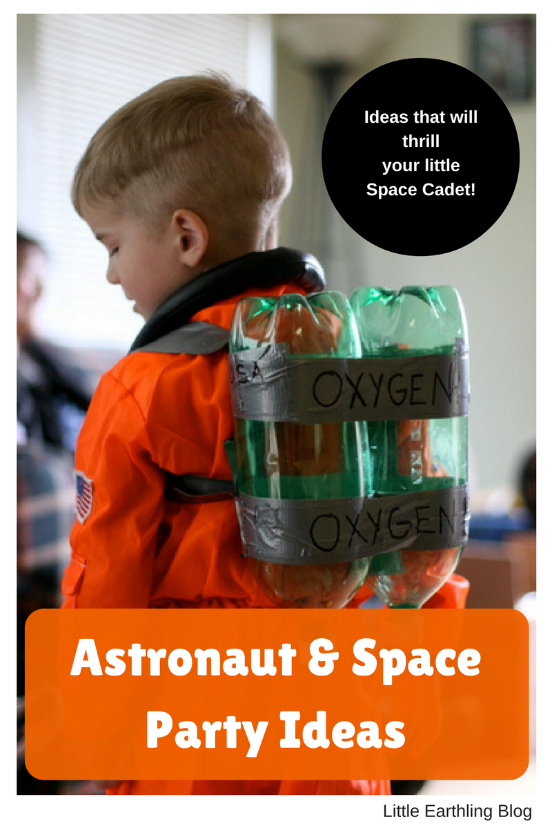 Ideas for hosting a fabulous Space and Astronaut Party!