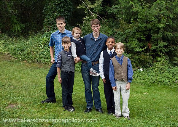 teen missions international, large family, large family blog, double aortic arch, tubie, g-tube, handsome boys, zambia, great teens