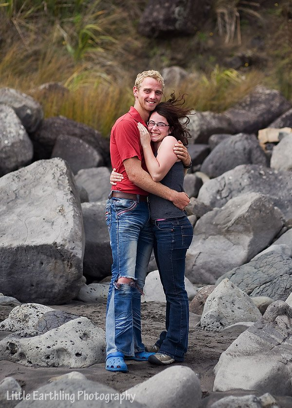 Ben and Adalia engaged.