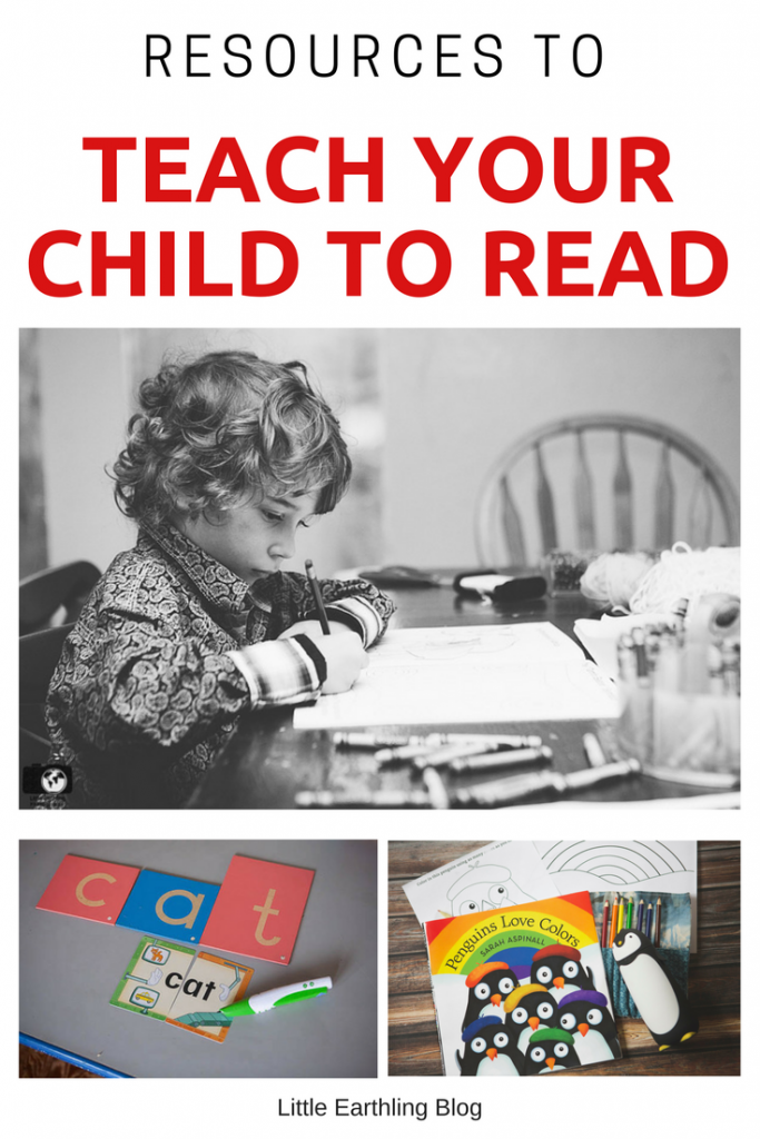 A list of amazing resources to teach your child to read.
