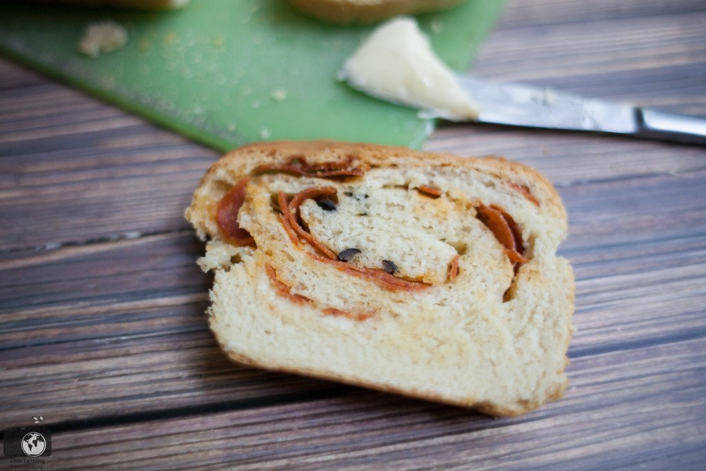 Pizza Bread- perfect for lunches, to go with soup, or an after school snack.