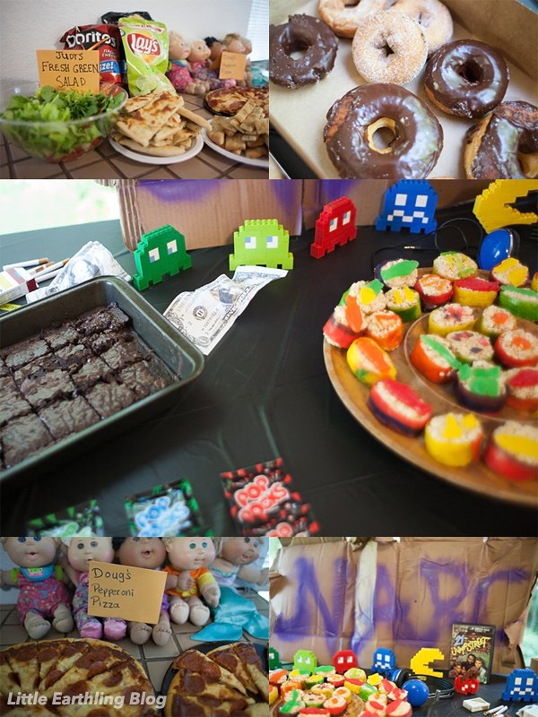 Food for 21 Jumpstreet Party