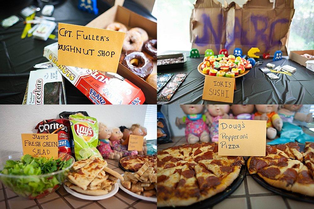 21 Jumpstreet party food ideas.