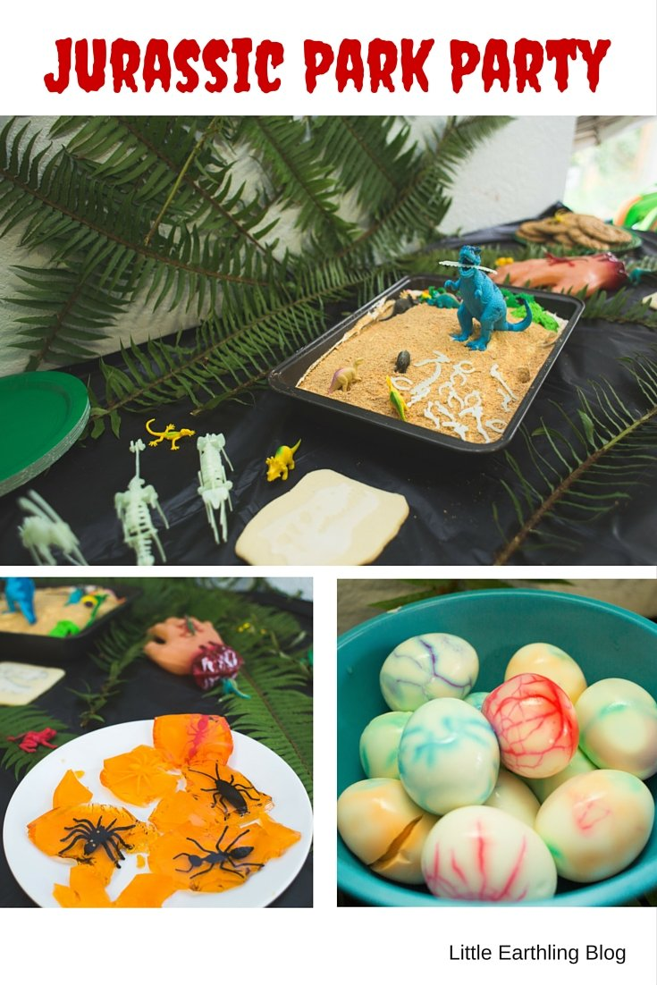 Ideas for Throwing a Jurassic Park party