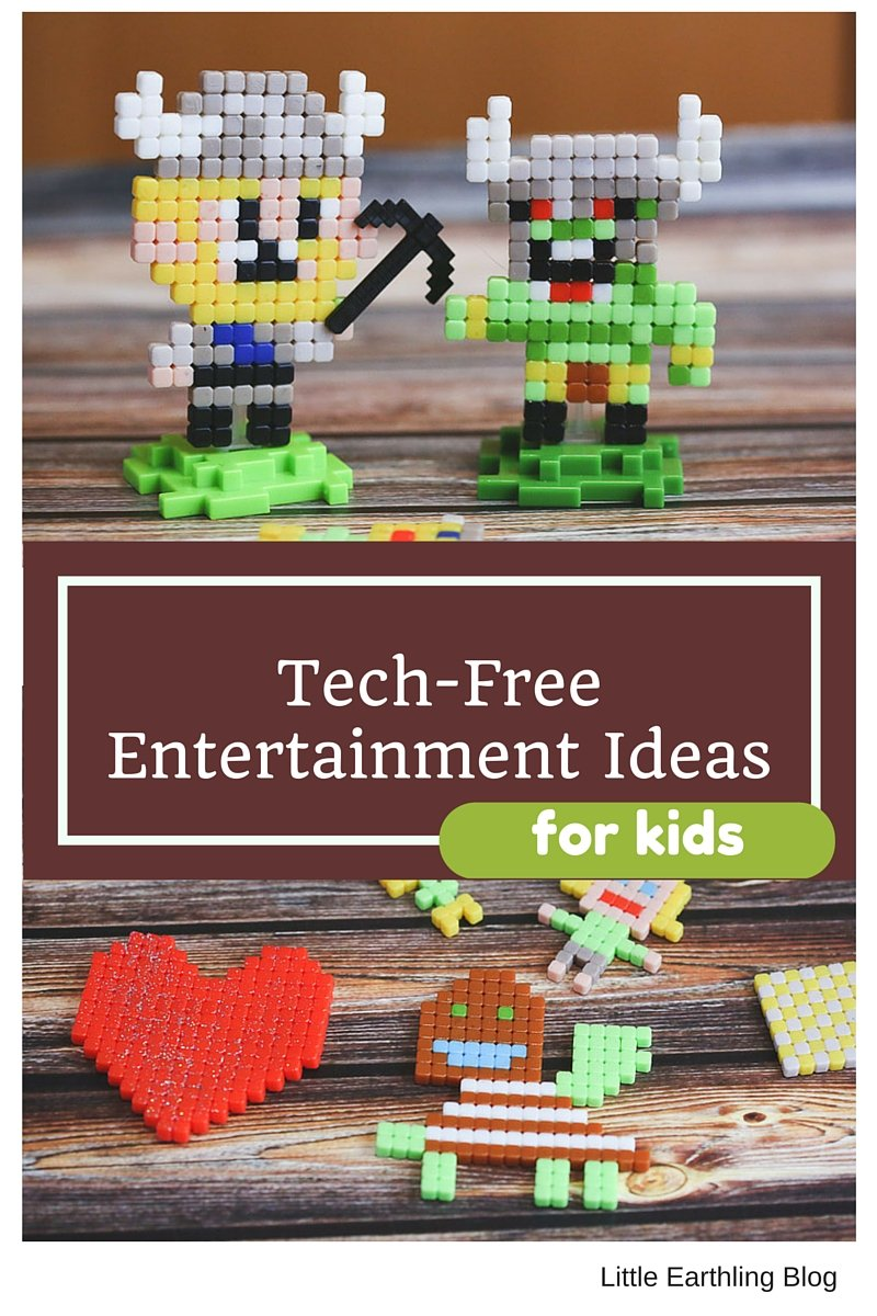 Tech-free entertainment for kids