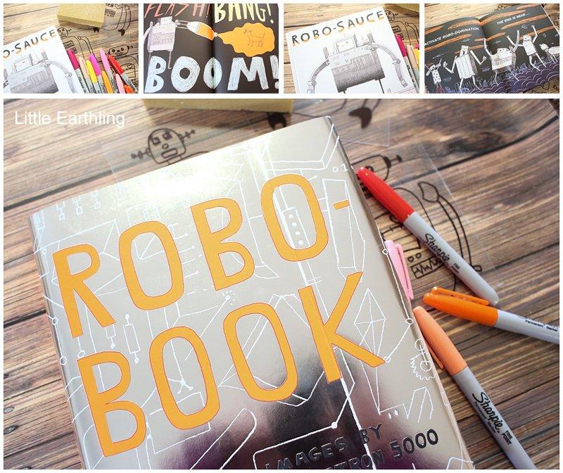 Fun robot activities to go along with Robo-Sauce