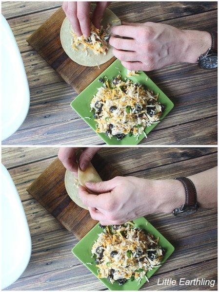 This delicious chicken enchilada recipe is sure to please!