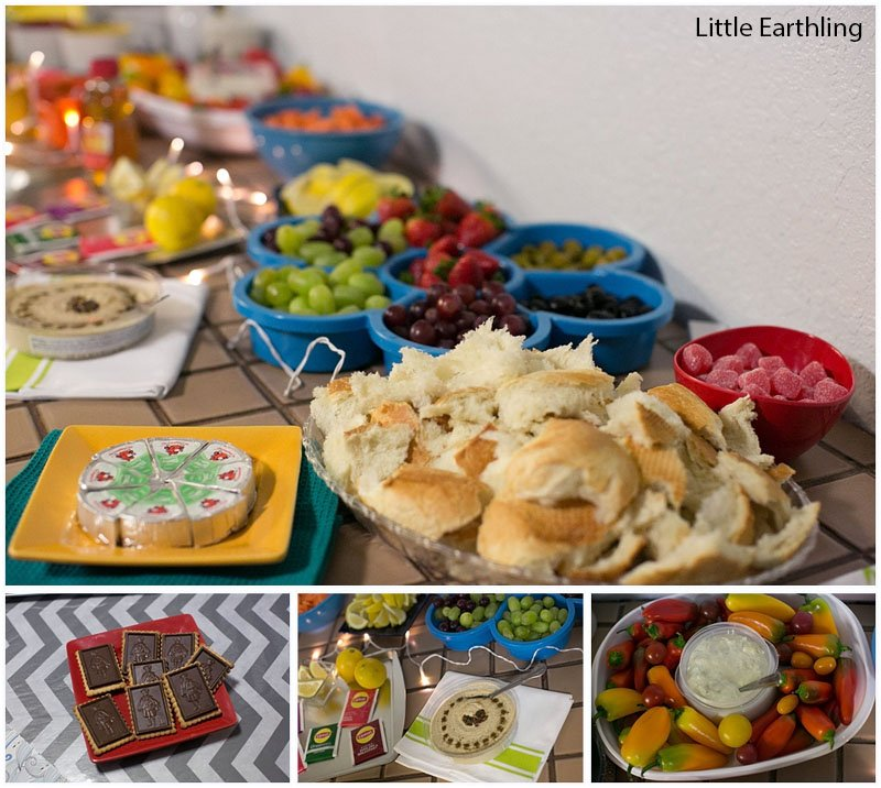 Host a fun art party for friends and don't forget to try Lipton's improved green teas