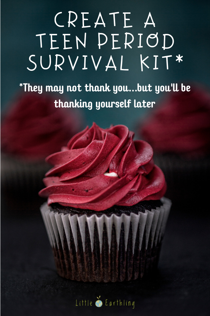 Create a teen period survival kit