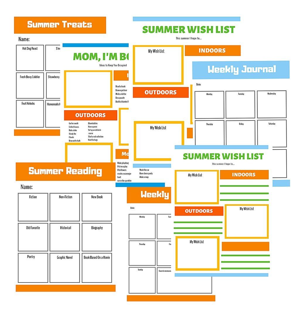 image about Summer Chore Chart Printable titled Chore Charts and Summer season Display screen Season