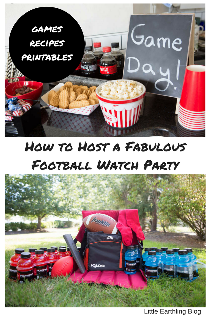 How to host a fun football watch party.