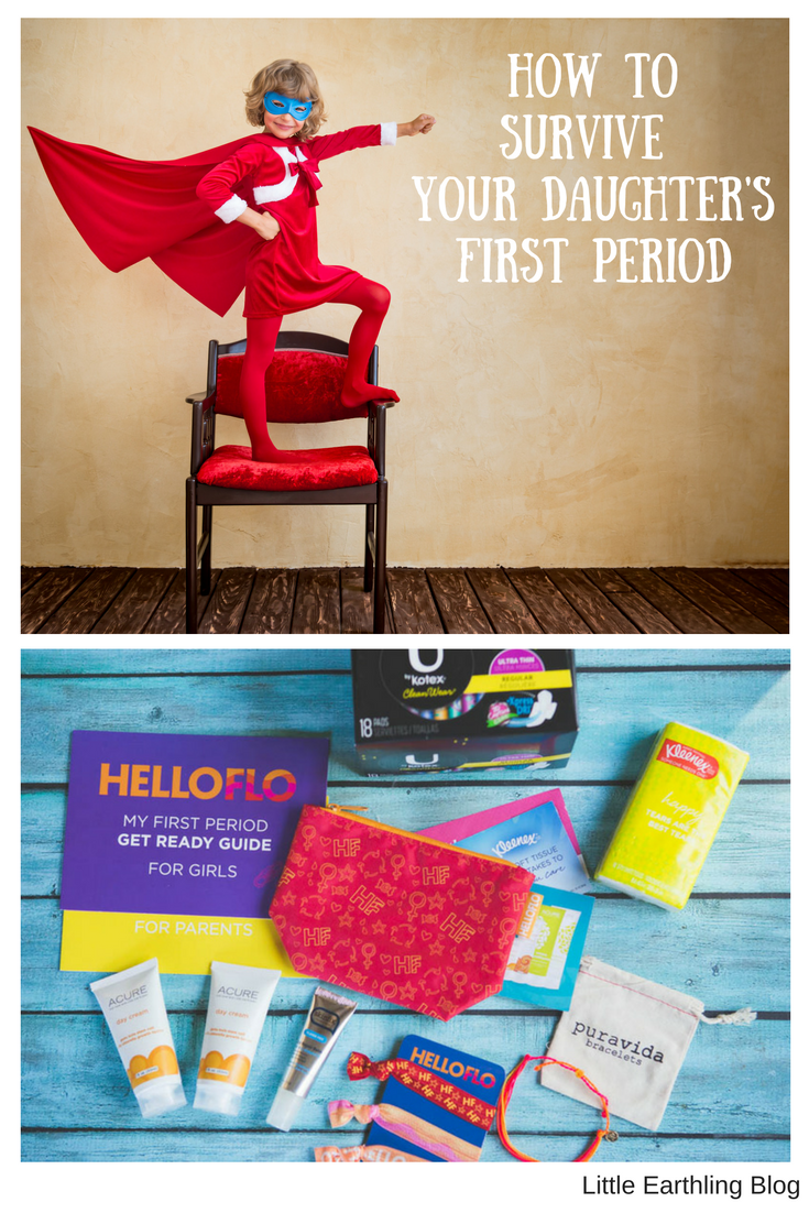 How to survive your daughter's first period with Hello Flo.