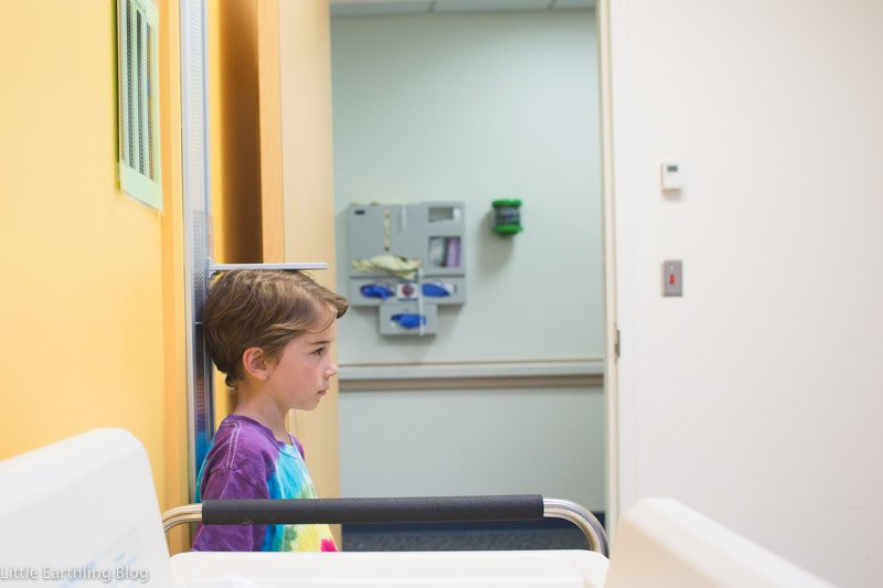 Seattle Children's Hospital pulmonary clinic.