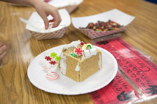 """I need an """"I survived first grade gingerbread house day"""" badge."""
