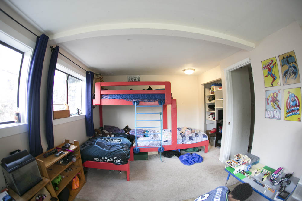 Steps to organizing kids' bedrooms.