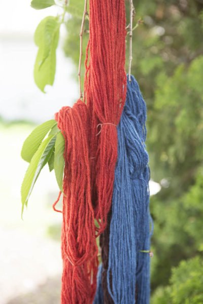 An afternoon learning how to hand dye yarn.