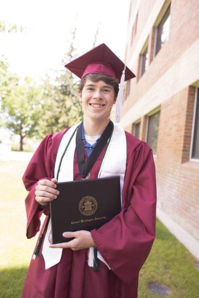 Judah Graduates from CWU