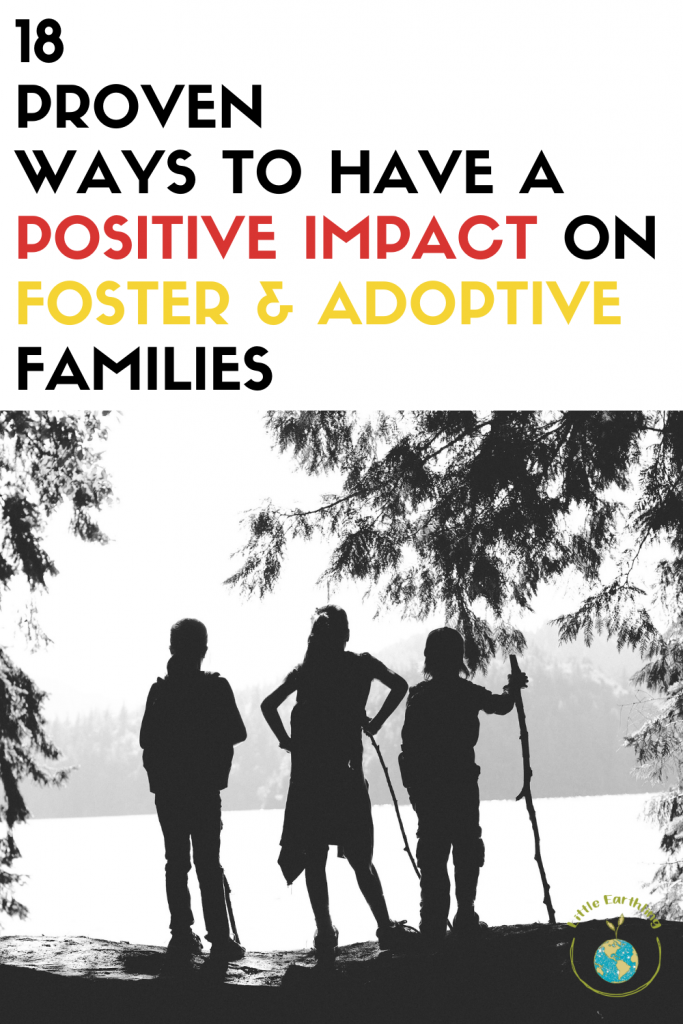 How to have a positive impact on foster and adoptive families