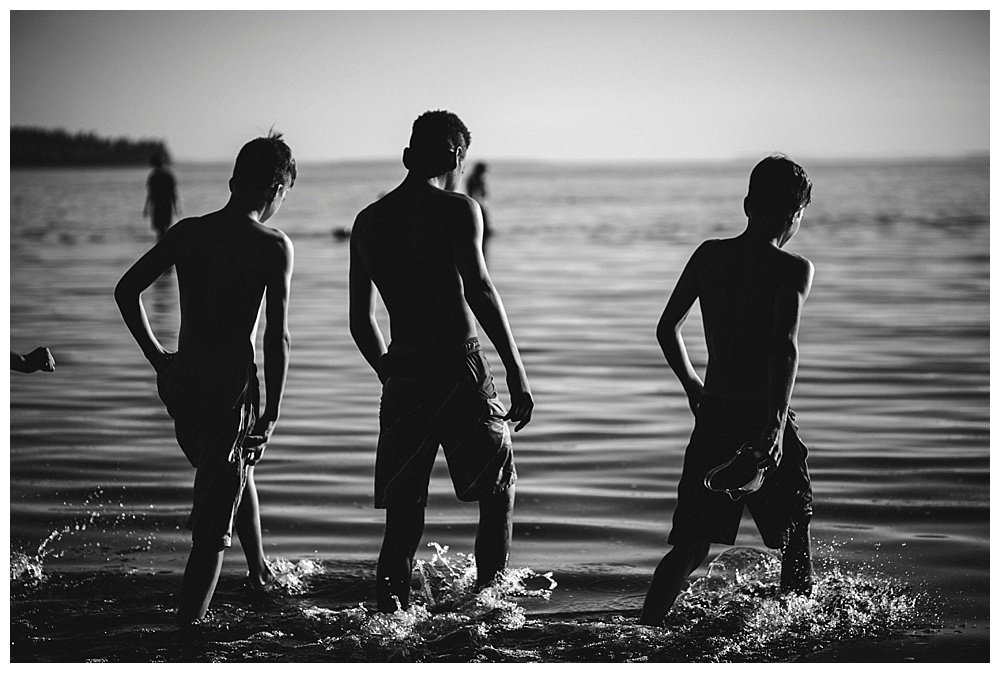 Our large family loves the ocean! Here is an evening well spent at Birch Bay.