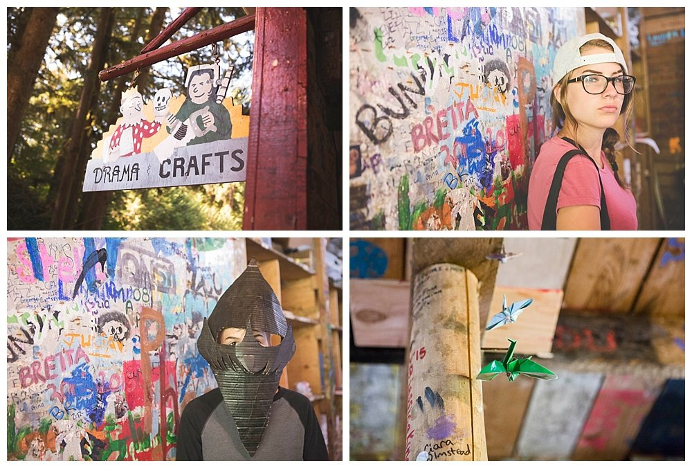 Arts and crafts at summer camp {hidden valley camp}