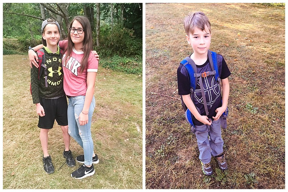 2017-2018 First day of school.
