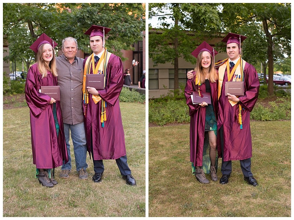 Hayley Enoch WCC graduation.