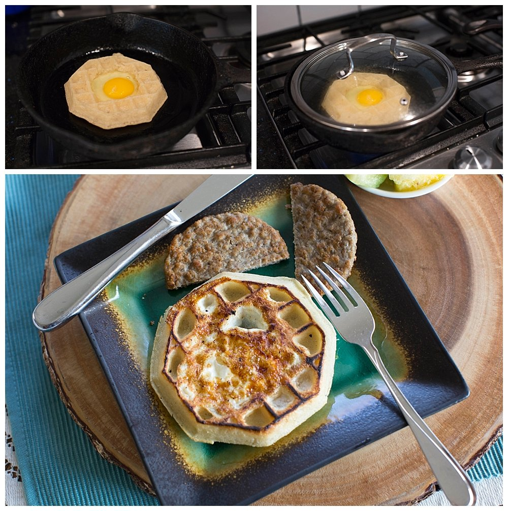 Sunshine Waffles make a fun and delicious breakfast.