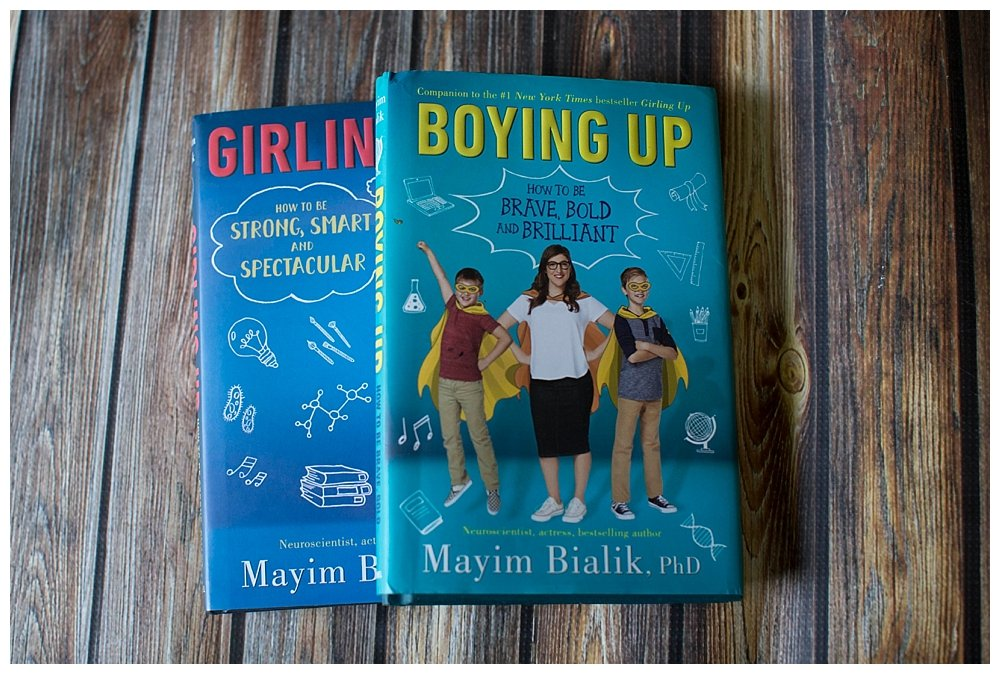 Boying Up is the perfect companion to Mayim Bialik's book Girling Up.