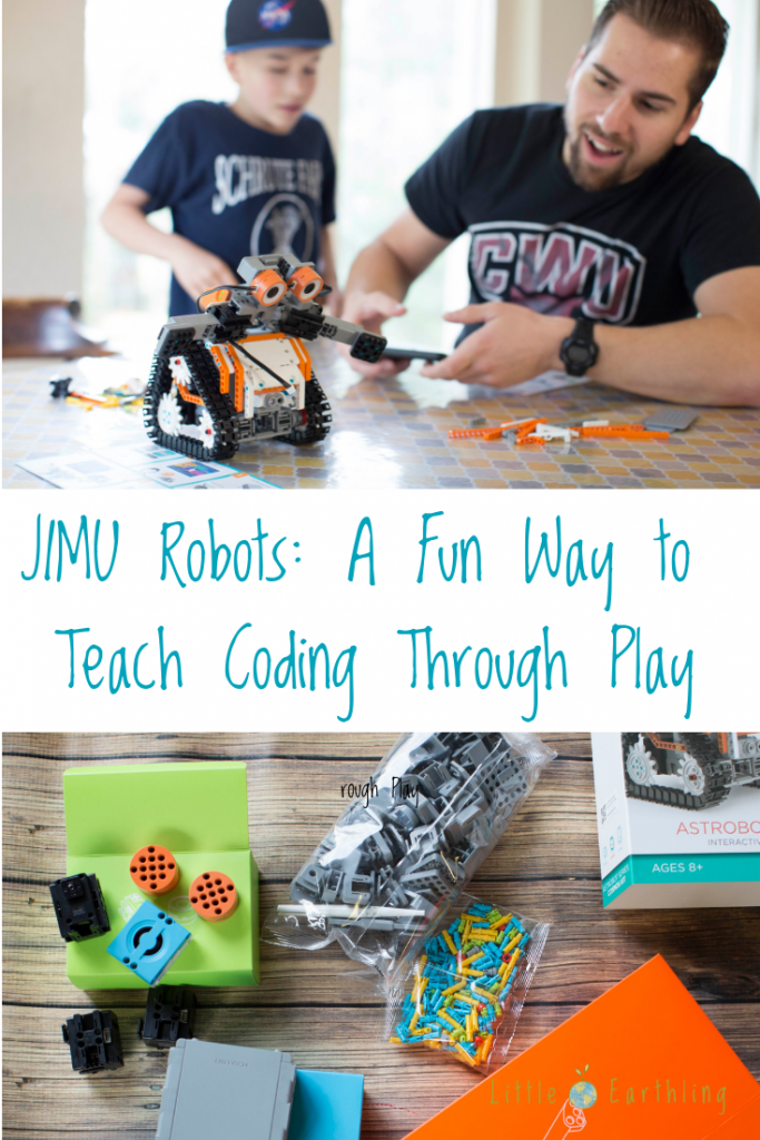 JIMU Robots is a fun way to teach coding through play.