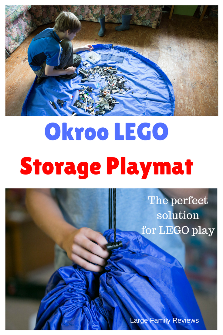 Okroo lego storage bag review.