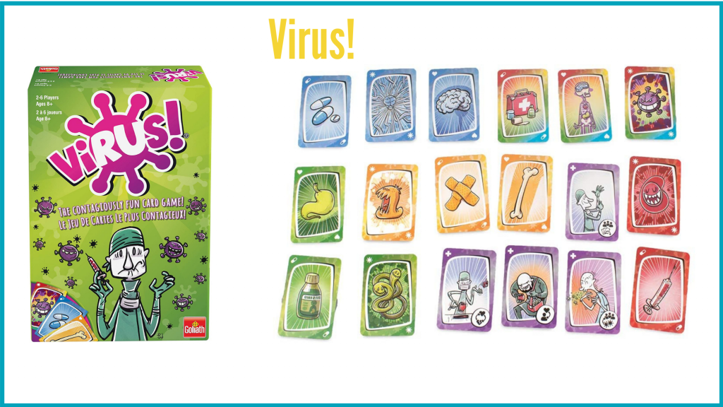 Virus! A fast paced game perfect for families