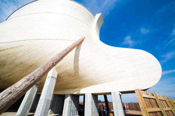 Ark Encounter Review for large families.