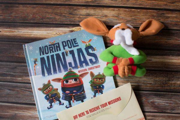 North Pole Ninjas makes a great elf on the shelf alternative.