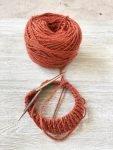 Knitting for Kiwi babies.