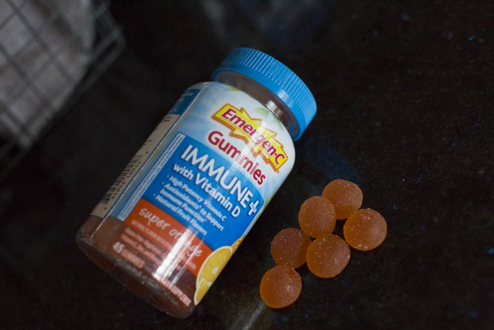 Emergen-C Immune+® Super Orange Gummies naturally supports your immune system with high potency Vitamin C and antioxidants, and contains natural fruit flavors