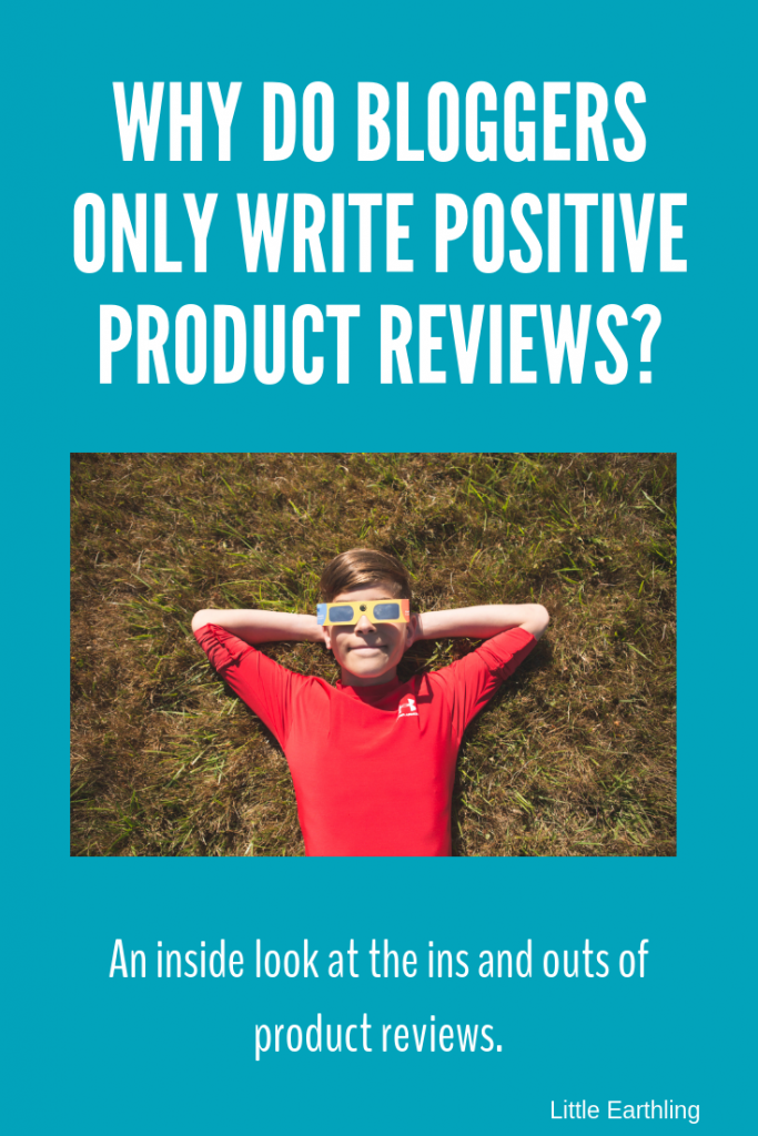 Why do bloggers only write positive reviews? An inside look at product reviews.