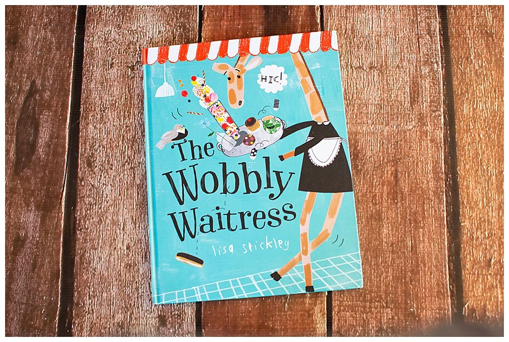 The Wobbly Waitress by Lisa Stickley review.
