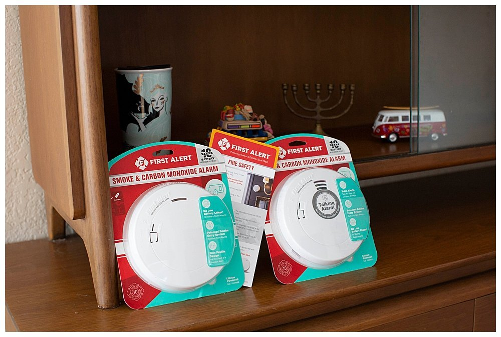 Large Family Fire Safety begins with 10-Year Combination Smoke & Carbon Monoxide Alarm with Voice Alerts