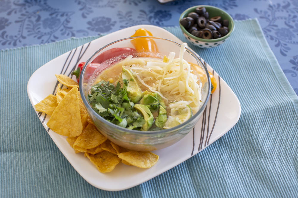 Instant Pot White Chicken Chili Recipe.