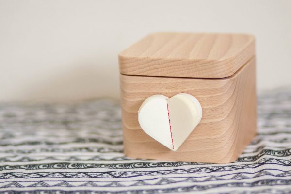 The lovebox helps us keep in touch with long-distance family.