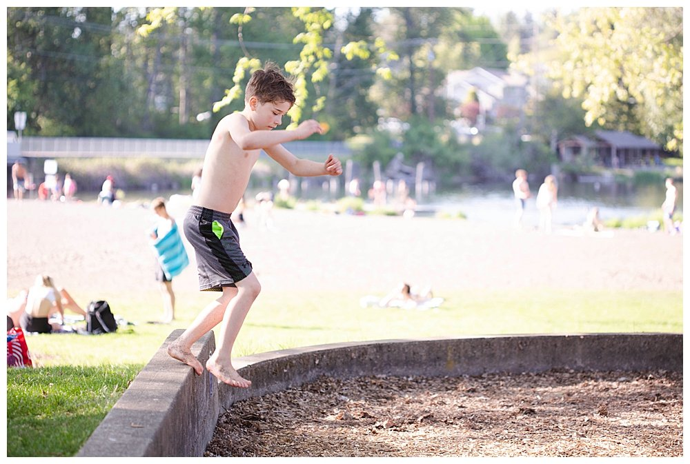 Playing outdoors is an important part of keeping healthy.